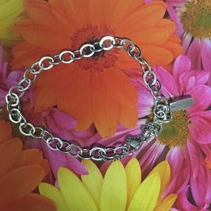 "James Avery charm bracelet 8"""